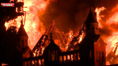 palat episcopal incendiu
