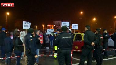 protest aeroport
