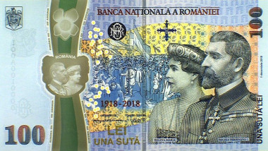 bancnota-100-lei-fata-rege-ferdinand-regina-maria-bnr