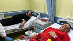 donare sânge pompieri Stei Bihor