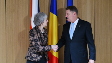 14 Dec 2018 - Consiliu European 2iohannis theresa may foto dragos asaftei
