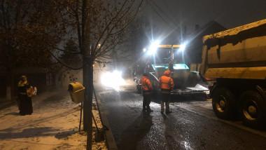 asfaltare ninsoare