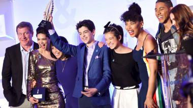 Rising Stars at the GLAAD Media Awards Los Angeles
