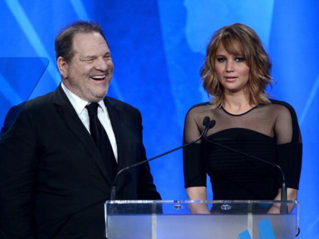 """Harvey Weinstein: """"M-am culcat cu Jennifer Lawrence şi uite unde a ajuns ea acum: tocmai a câştigat un Oscar"""""""