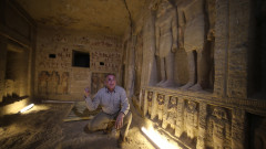 Mormantul preotului Wahtye din Egipt