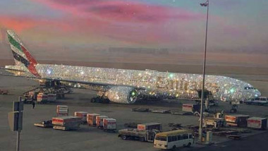 avion emirates diamante