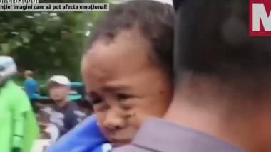 copil salvat indonezia