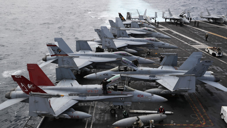 Onboard The USS George H.W Bush - One Of The US Navy's Premier Warships