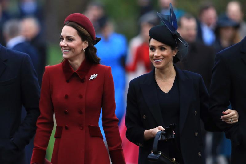 Meghan Markle si Kate Middleton