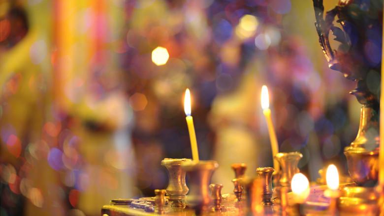 lumanari biserica religie craciun