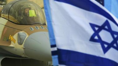 israel avion steag getty