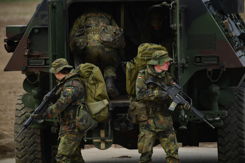 Bundeswehr Holds Multi-Day Exercises