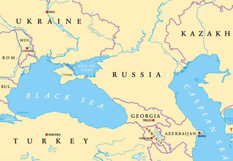 harta zona marii negre shutterstock