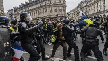 proteste veste galbene paris