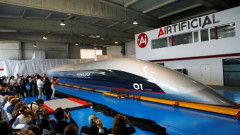 tren hyperloop