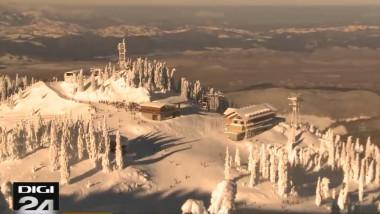 peisaj iarna poiana brasov imagine sus