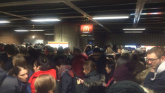 aglomeratie metrou Unirii 110117 (1)