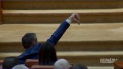 parlamentar semn de dislike