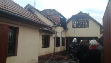incendiu centru de plasament Oradea 170119 (2)