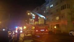 pompieri scara salvare bloc seara