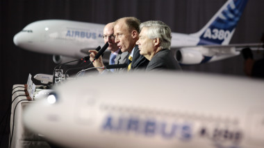 Airbus Chiefs Announce Annual Results