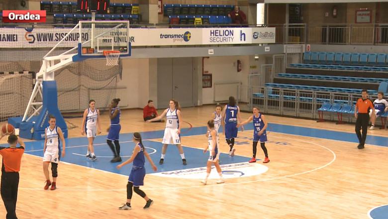 sport baschet fete CSU Oradea