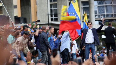 Venezuelan Opposition Leader Declares Self Interim President