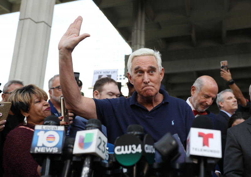 Former Trump Associate Roger Stone Arrested In Charges Related To Mueller Investigation