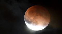 Supermoon Eclipse Visible In Skies Over California