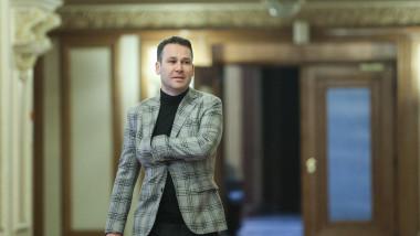 Robert negoita in parlament
