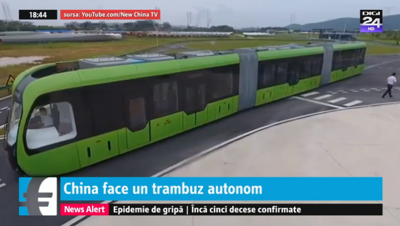 art, tramvai autonom china