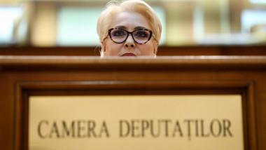 viorica dancila parlament plen buget inquam george calin 2019-02-15 GC vot buget 1-3889