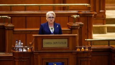 viorica dancila parlament plen buget inquam george calin 2019-02-15 GC vot buget 1-4000