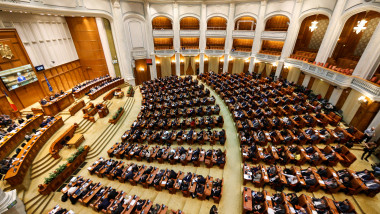 viorica dancila parlament plen buget inquam george calin 2019-02-15 GC vot buget 1-4023