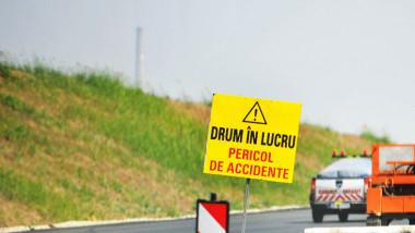 autostrada drum in lucru lucrari agerpres