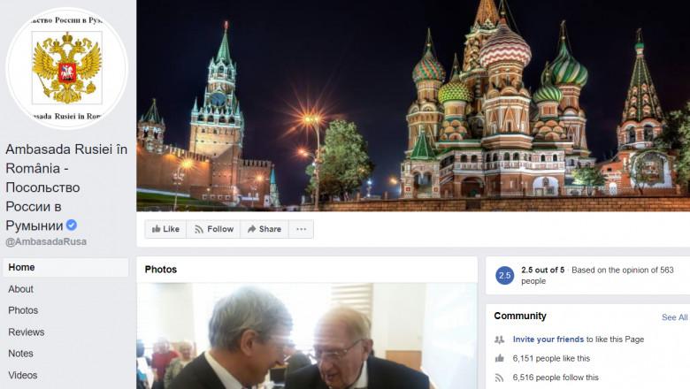 facebook ambasada rusiei la bucuresti