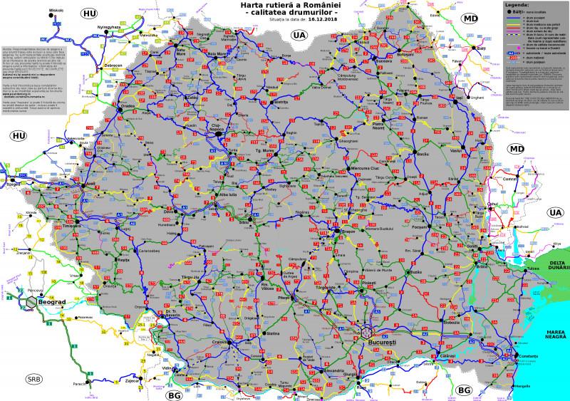 Asociația Pro Infrastructura A Realizat Harta Calității Drumurilor
