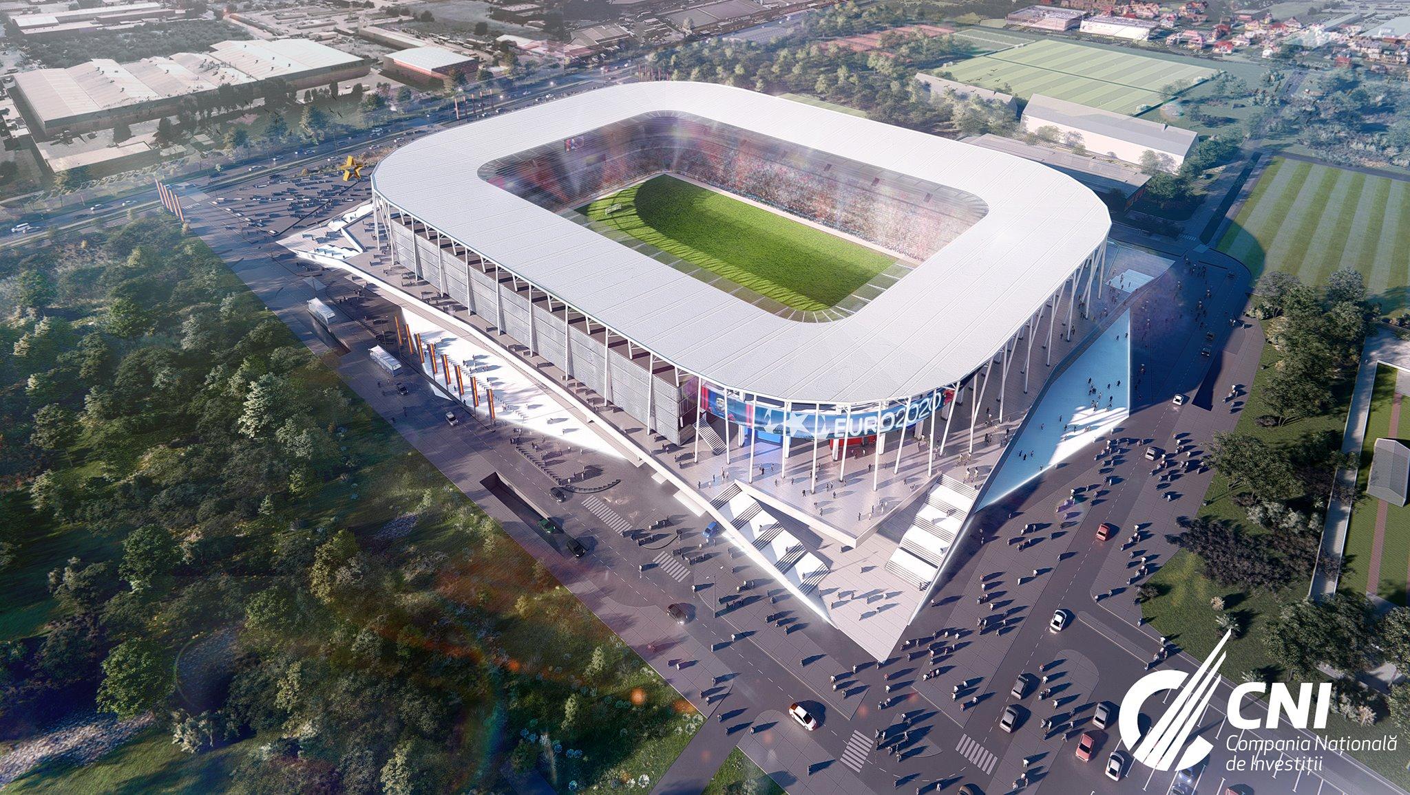FOTO. Cum vor arata stadioanele pe care se vor antrena fotbaliştii de la EURO 2020