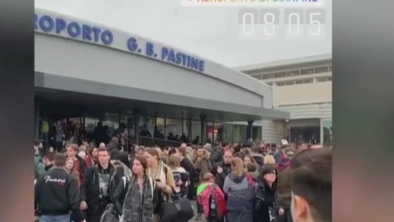 evacuari aeroport roma