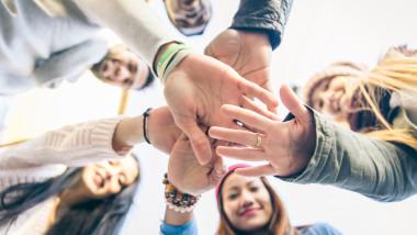 comunitate, societate, grup de oameni, tineri