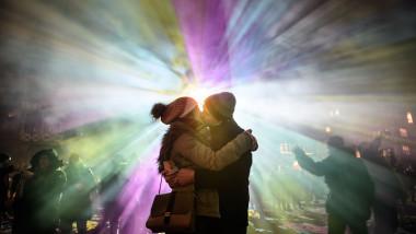 Luminale Festival Illuminates Frankfurt Buildings