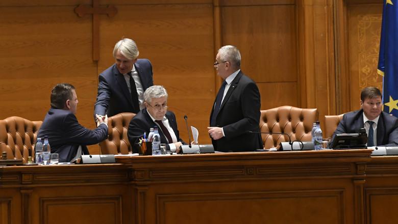 dezbateri pe buget in parlament