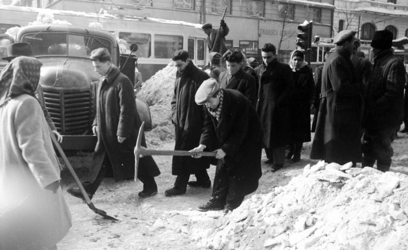 MArele viscol din 1954 Bucuresti