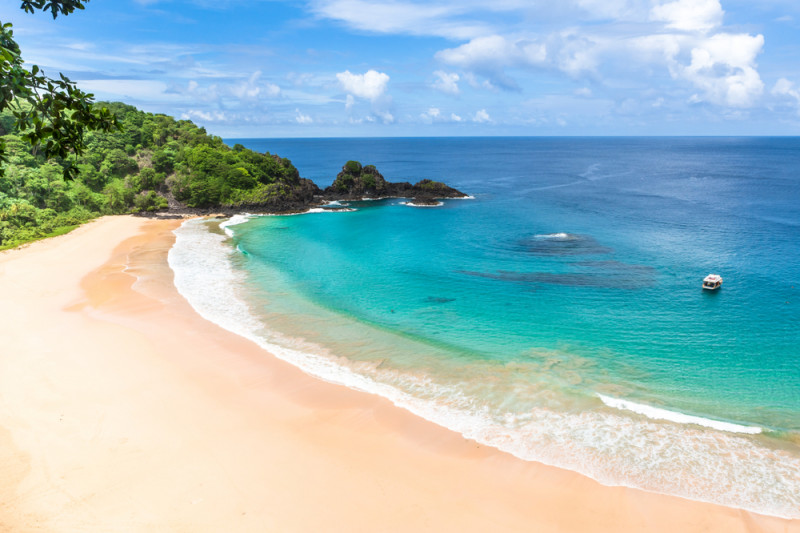 Baia do Sancho, brazilia, plaja