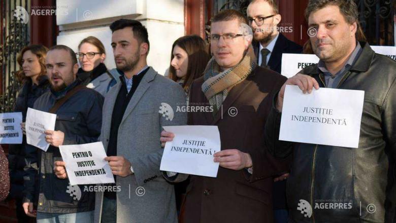 protest targu mures judecatori agerpres