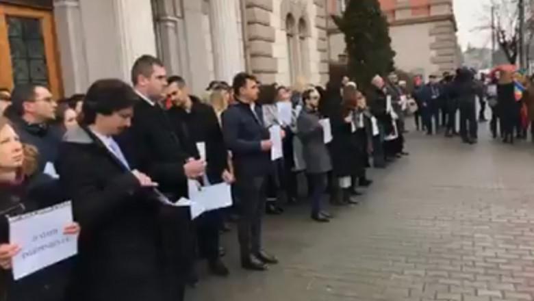 protest-procurori-cluj