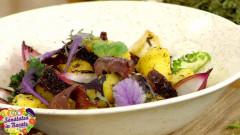 salata calda de oaie sanatatea in bucate