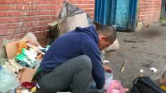 venezuela cauta in gunoi