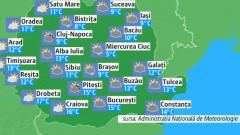 prognoza meteo pentru miercuri 6 martie 2019