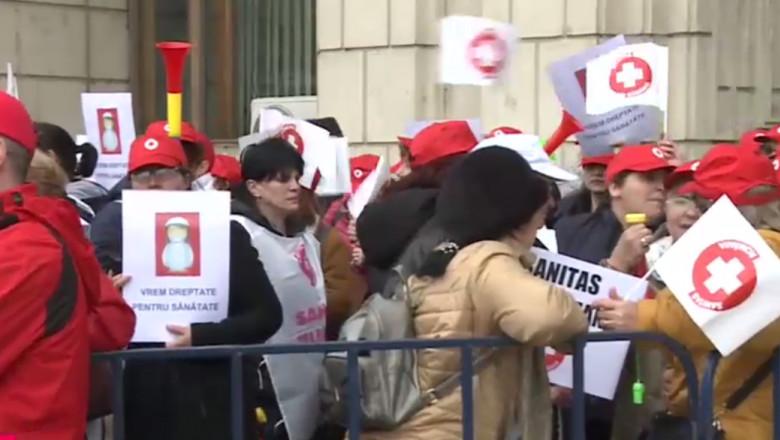 protest medici la finante